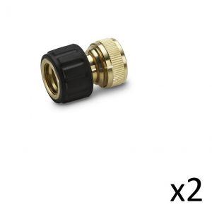 Kärcher Kit de 2 Raccords laiton 13-15mm - 2.645-015.0