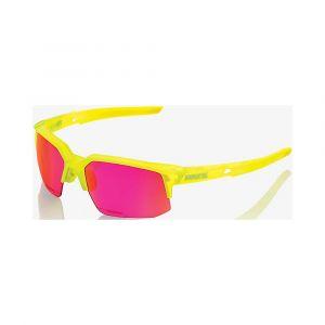 100% Speedcoupe STD - Lunettes cyclisme - jaune/rose Lunettes