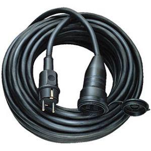 Brennenstuhl Rallonge IP44 H05RR-F 3G1.5, 5m, Noir
