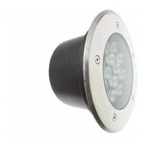 Silamp Spot Extérieur Encastrable Sol LED 18W IP65 60 - couleur eclairage : Blanc Froid 6000K - 8000K
