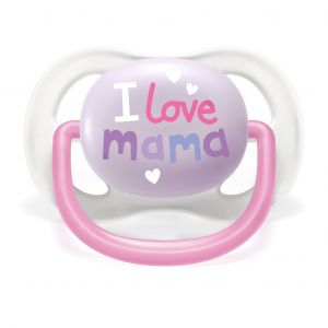 Philips Lot 2 sucettes ultra air - I love mama et papillon - 0-6 mois