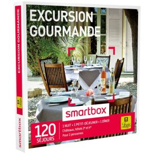 Smartbox Excursion gourmande par Logis - Coffret cadeau