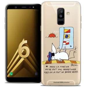 CaseInk Coque Gel Samsung Galaxy A6 PLUS 2018 (6 ) Extra Fine Les Shadoks® - La Marine