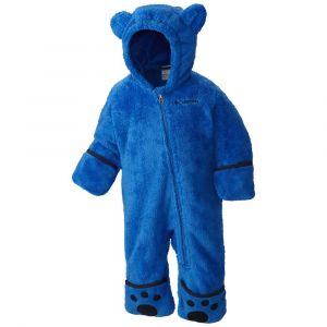 Columbia Enfant Combinaison Polaire, FOXY BABY II BUNTING, Polyester, Bleu (Super Blue/Collegiate Navy), Taille : 6/12 mois, WN0016