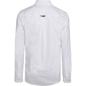Tommy Jeans Tommy Hilfiger TJM Classics Oxford Shirt Chemise Casual, White 100, Small Homme