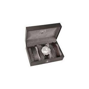 Pierre Lannier 362B123 - Coffret montre avec multiples bracelets pour homme