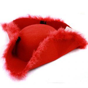 Tricorne rouge