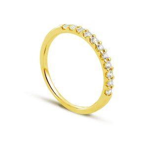 Rêve de diamants 3612030082771 - Bague en or jaune sertie de diamants