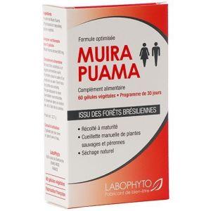 Labophyto Bois bandé Muira Puama gélules