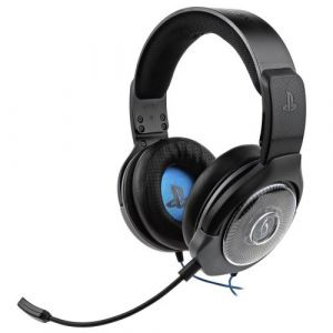 PDP Afterglow Micro-casque Gaming AG 6 Noir Licencié pour PS4