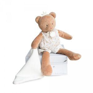 Doudou et Compagnie Peluche bébé pantin avec doudou ours attrape-rêve