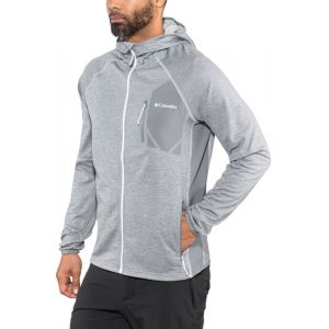 Columbia Triple Canyon Hooded Fleece Grey Ash Heather XXL