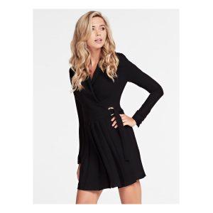 Guess Robe courte ALTAS DRESS Noir - Taille S,M,L,XL,XS
