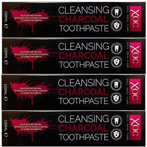 XOC Cleansing charcoal toothpaste