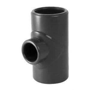 Codital Té 90° réduit PVC pression à coller FFF C 0-40-50 de C Raccord PVC pression