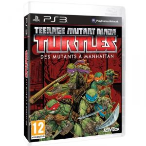 Teenage Mutant Ninja Turtles : des Mutants à Manhattan [PS3]