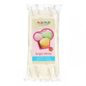 FunCakes Pâte à sucre - blanc brillant - vanille - 1 kg
