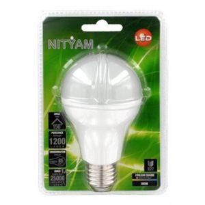 Nityam Ampoule LED STAND D E27 15 Watts