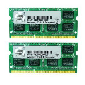 G.Skill F3-1333C9D-8GSA - Barrettes mémoire Standard 2 x 4 Go DDR3 1333 MHz CL9 SoDimm 204 broches