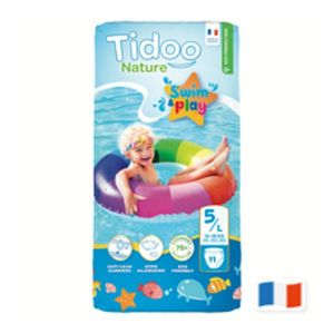 Tidoo 11 couches Swim & Play - T5(L), 12-18 kg
