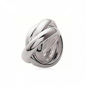 Collection Zanzybar Bague 3 anneaux en argent 925 entrelacés Lauriane Taille - 56