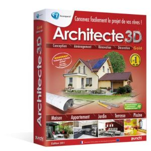 Architecte 3D - Edition Gold 2011 [Windows]