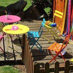 Fermob Tom Pouce - Chaise de jardin enfant en métal