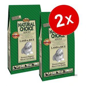 Nutro Natural Choice Agneau et riz (7kg) - Croquettes chiens adultes petite race