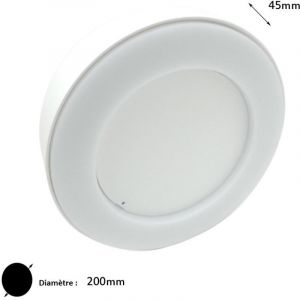Silamp Applique Murale LED COB 15W IP65 - couleur eclairage : Blanc Neutre 4000K - 5500K