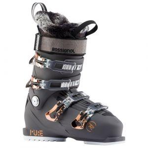 Rossignol Chaussures de ski PURE PRO 100 Noir - Femme