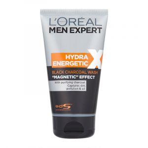 """L'Oréal Men Expert Hydra Energetic X - Nettoyant purifiant au charbon effet """"magnétique"""""""