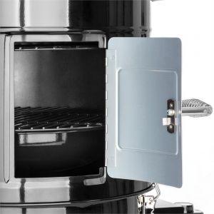 Klarstein Barney - Barbecue 3 en 1 électrique Smoker 1800W