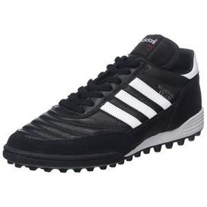 Adidas Mundial Team, Chaussures de Football mixte adulte, Noir (Black/Running White Ftw/Red) - 42 2/3 EU