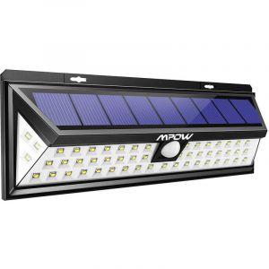 Techbox Projecteur led extérieur solaire forte puissance spot solaire