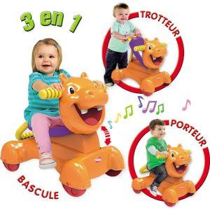 Playskool Porteur Hippo Bolide