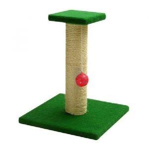 Arbre a chat en bois h 37 cm