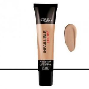 L'Oréal Infaillible 24H Fond de Teint Matifiant 20 Sable 35 ml
