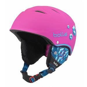 Bollé Casque De Ski/Snow B-Free Soft Neon Pink Blocks 53-57 53/57
