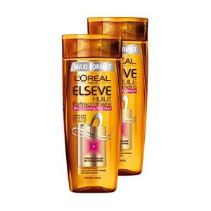 L'Oréal Elsève Huile Extraordinaire Shampooing Nutrition Cheveux Secs 400ml