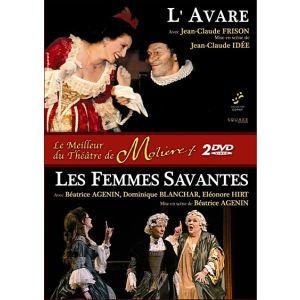 Coffret Le Meilleur du thêatre de Moliere - L'avare + Les Femmes Savantes