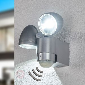 Globo Lighting Spot LED d%u2019extérieur Radial à 2 lampes