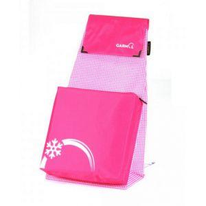 Garmol Sac poussette de marché isotherme 66 L Positive Vichy - rose - Accessoire poussette de marché