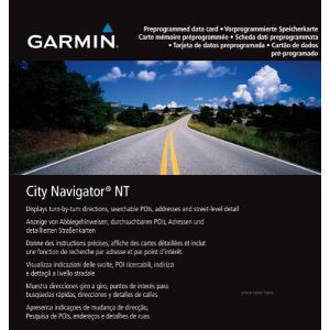 "Garmin Carte microSD City Navigator - Europe de l'Est ""Big 5"" CNE NT pour GPS séries nüvi et zümo"