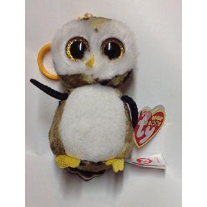 Ty 36602 - Peluche - Beanie Boo's Clip - Owliver La Chouette