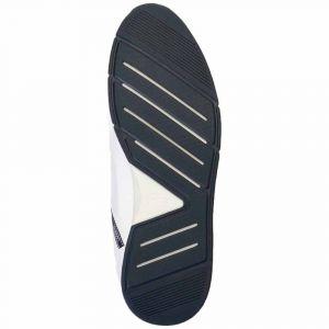 Lacoste Chaussures sport avec logo sur le côté Blanc - Taille 41
