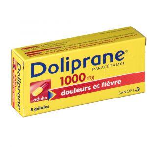 Sanofi Doliprane 1000 mg - 8 gélules