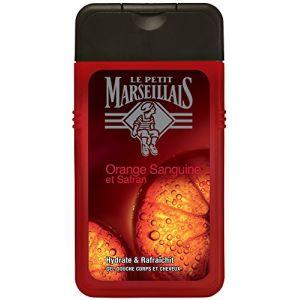 Le Petit Marseillais Gel douche homme corps & cheveux orange sanguine 250 ml
