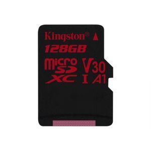 Kingston SDCR/128GBSP - Canvas React - Carte mémoire 128 Go A1 / Video Class V30 / UHS-I U3 / Class10