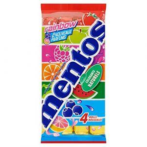 Mentos Bonbons multipack 4 rouleaux rainbow