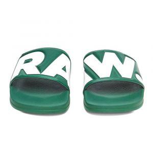 G-Star Raw Cart Slide II, Sandales Bout Ouvert Homme, Vert (Deep Nuri Green 8887), 41 EU